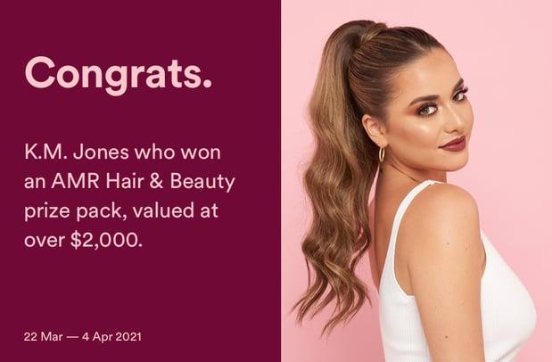 AMR Hair & Beauty Promo_Winner Tile