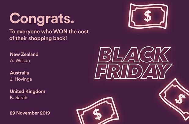 Black Friday winners