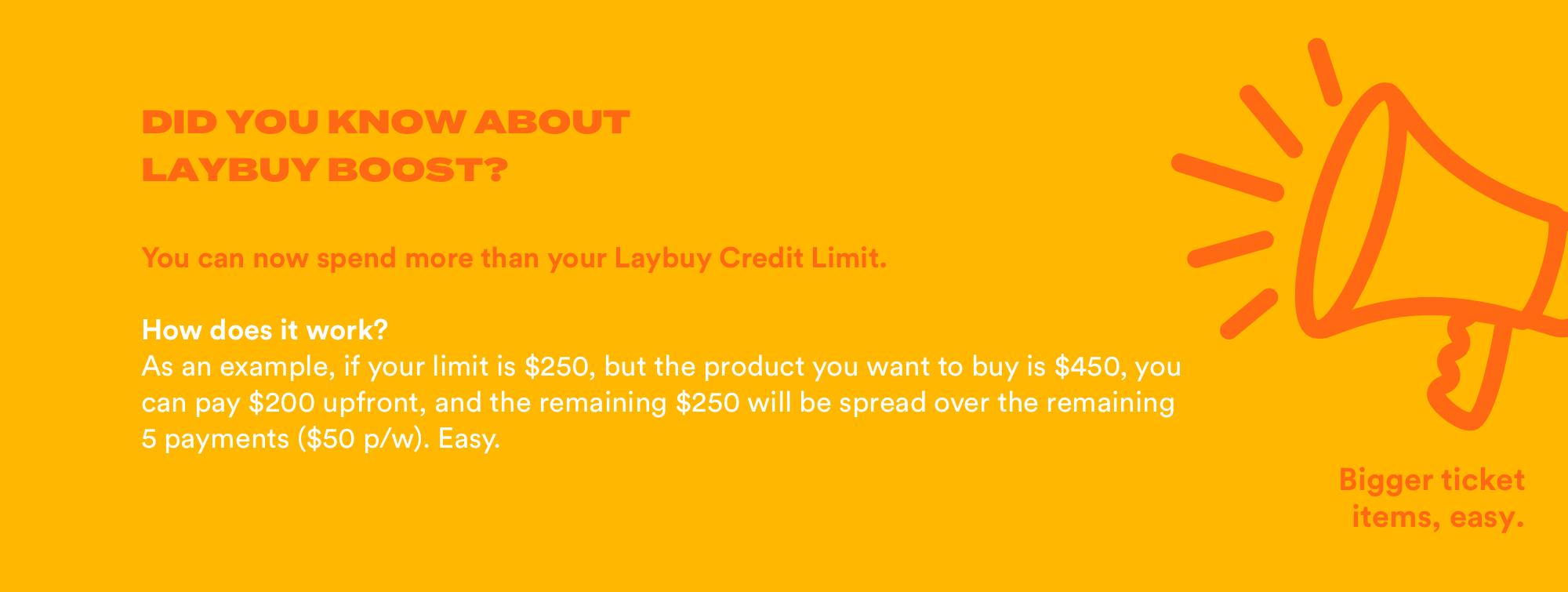Desktop Did You Know? Laybuy Boost V3