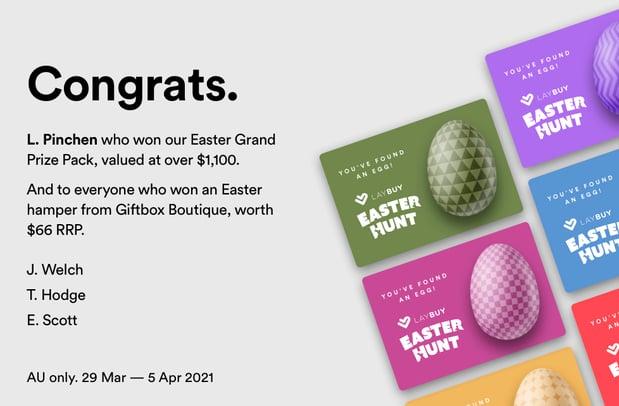 Easter AU_Winner Tile