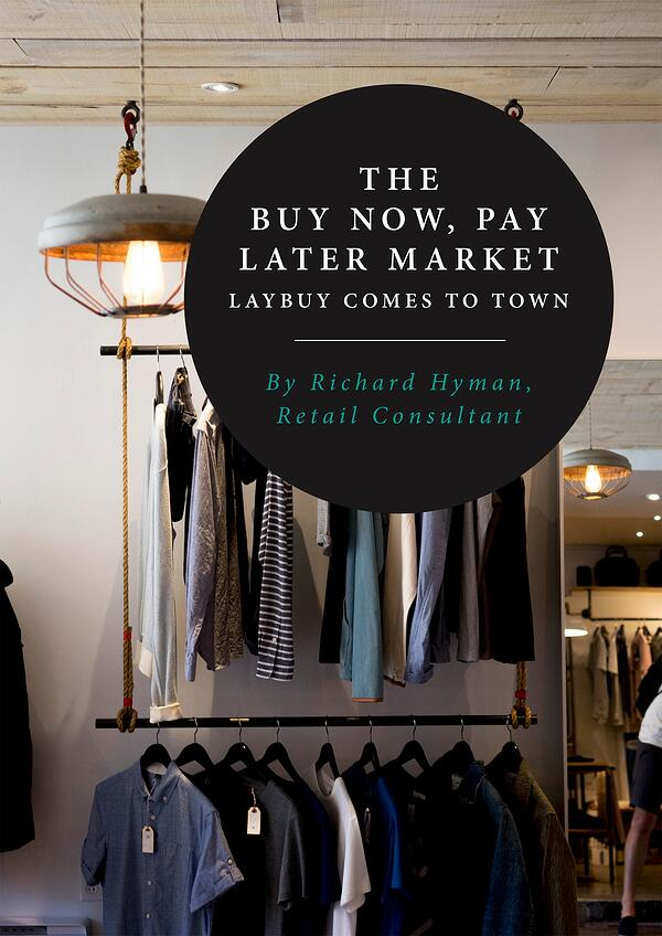 Richard Hyman - Buy Now Pay Later Retail Report - cover