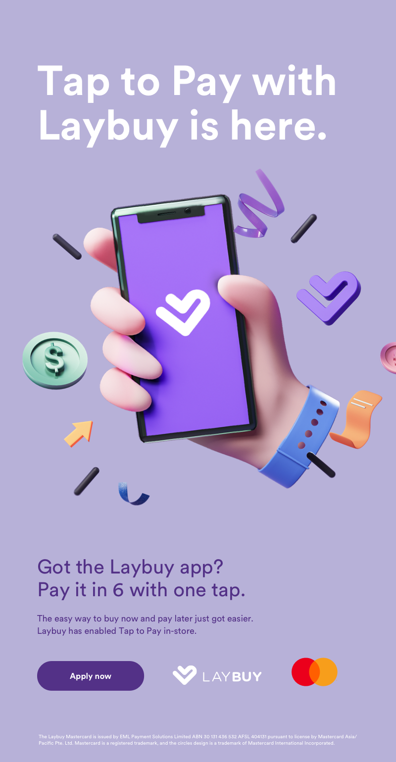 Tap to Pay Landing Page AU Mobile Hero