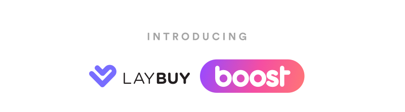 Introducing laybuy boost