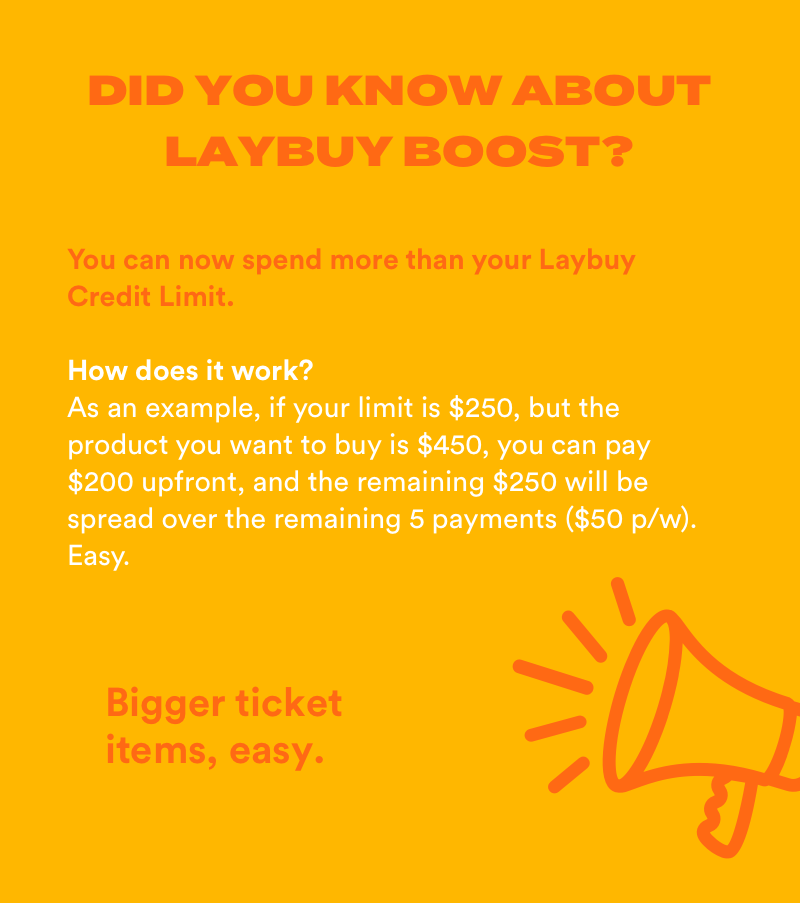 Mobile Did You Know? Laybuy Boost V3