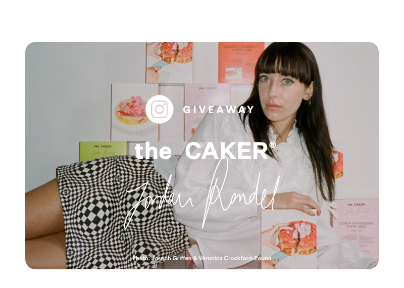 Giveaway - The Caker